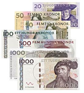 Szwedzkie korony