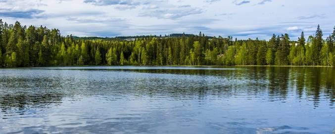 Norweskie jezioro