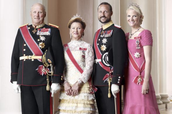 rodzina królewska norwegii